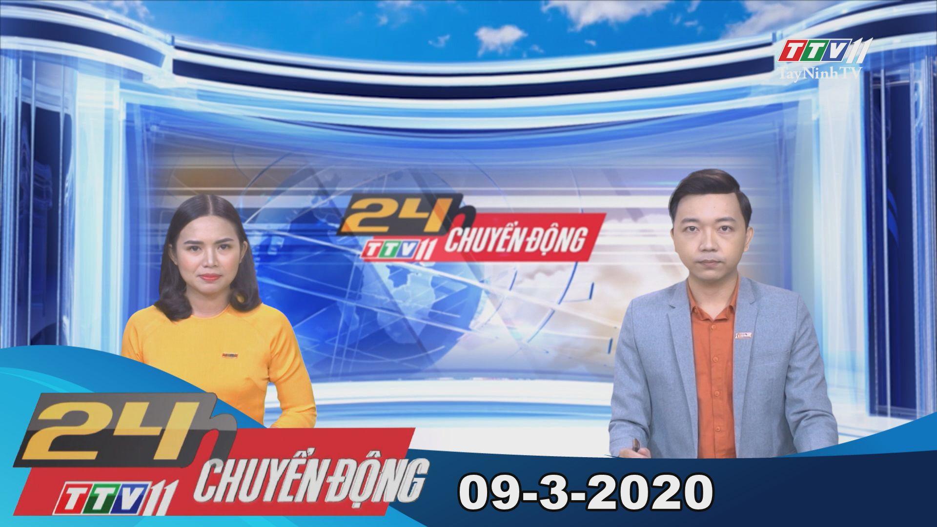 24h Chuyển động 09-3-2020 | Tin tức hôm nay | TayNinhTV