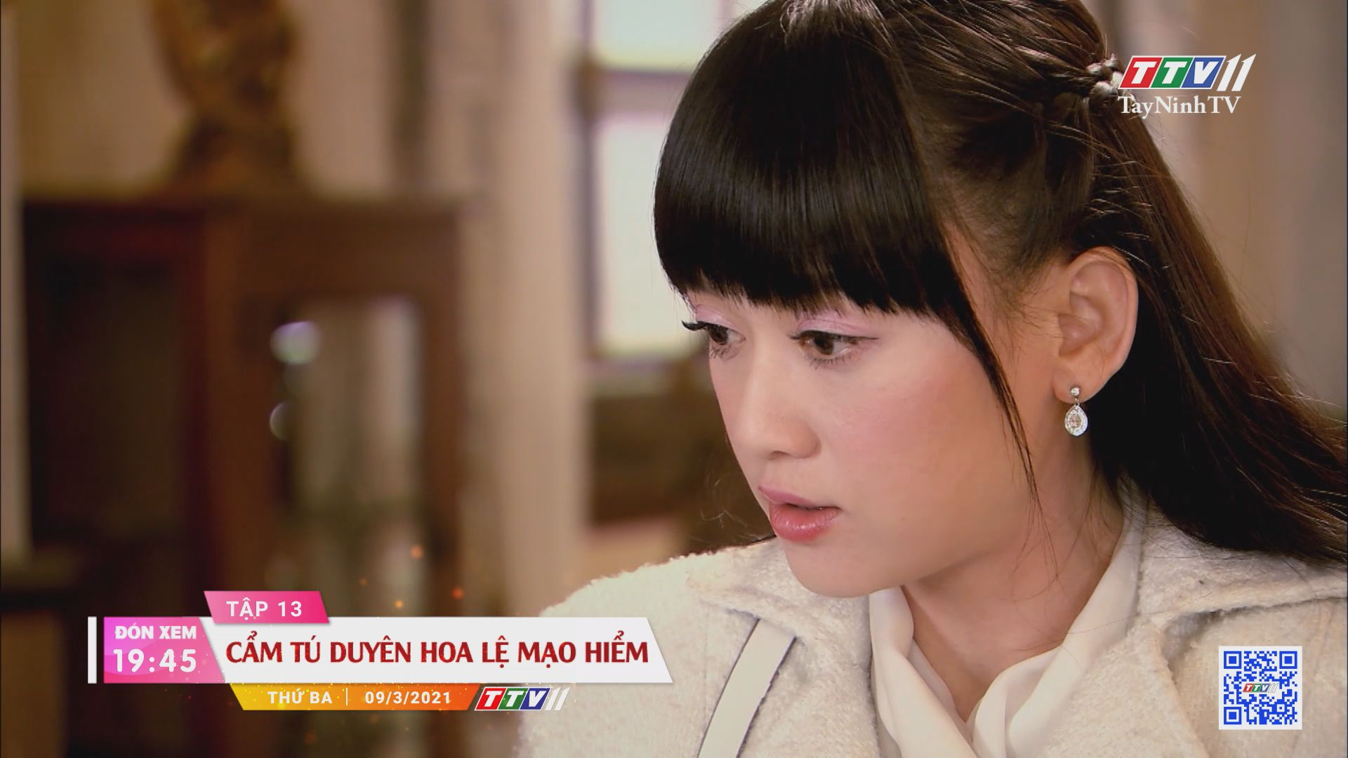 Cẩm Tú duyên hoa lệ mạo hiểm-Trailer tập 13 | PHIM CẨM TÚ DUYÊN HOA LỆ MẠO HIỂM | TayNinhTVE