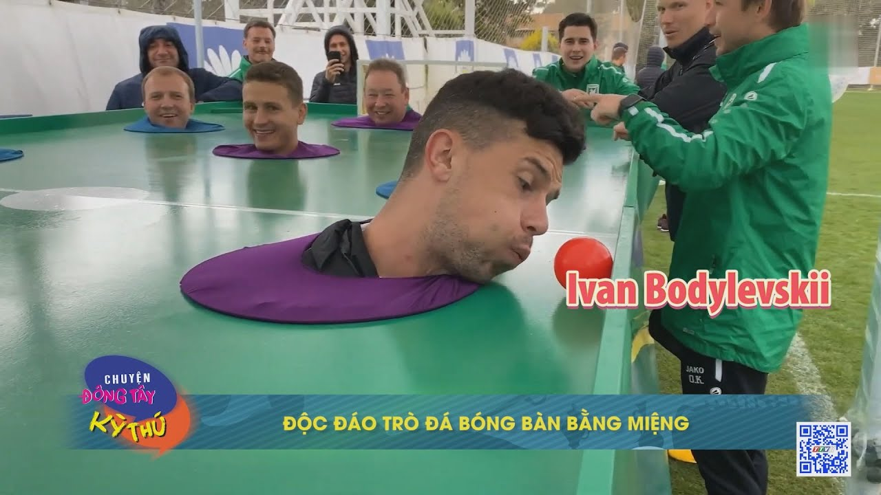 Độc đáo trò đá bóng bàn bằng miệng | CHUYỆN ĐÔNG TÂY KỲ THÚ | TayNinhTVE