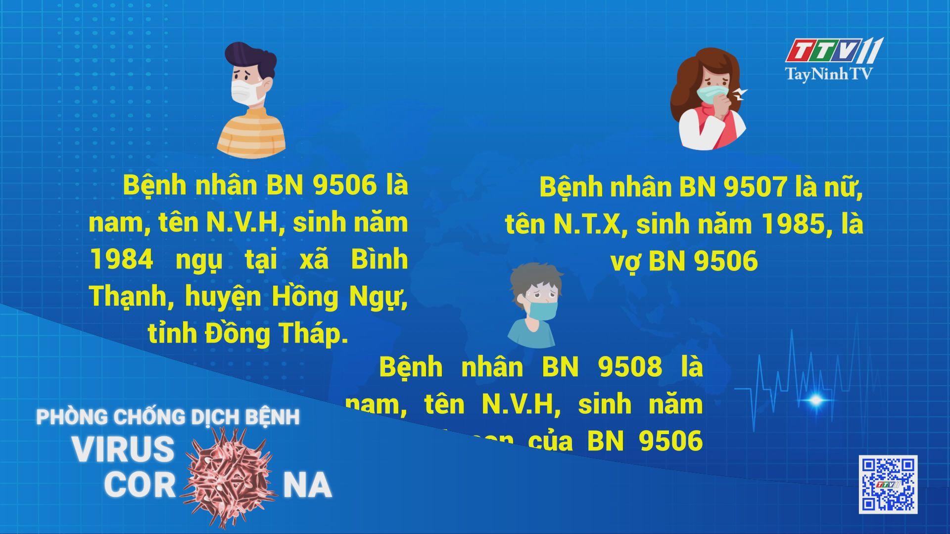 Thêm 3 người trong một gia đình bị mắc Covid-19 khi nhập cảnh tại Tây Ninh | THÔNG TIN DỊCH CÚM COVID-19 | TayNinhTV