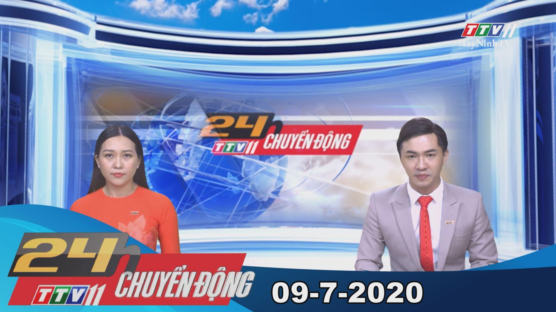24h Chuyển động 09-7-2020 | Tin tức hôm nay | TayNinhTV