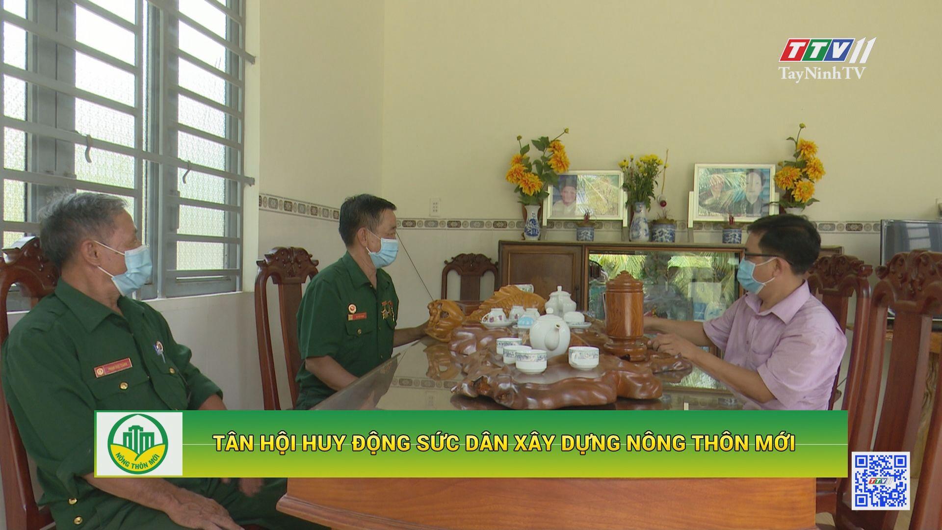 Tân Hội huy động sức dân xây dựng nông thôn mới | TÂY NINH XÂY DỰNG NÔNG THÔN MỚI | TayNinhTV