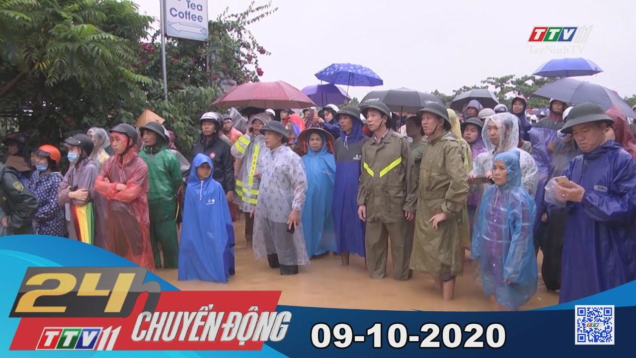 24h Chuyển động 09-10-2020 | Tin tức hôm nay | TayNinhTV