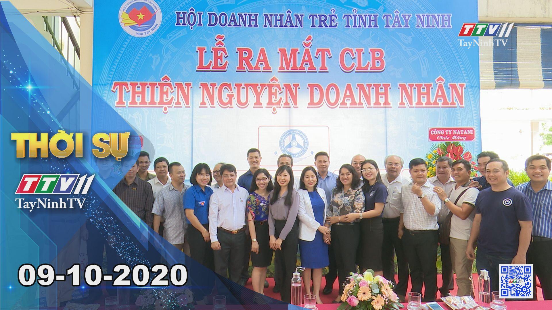 Thời sự Tây Ninh 09-10-2020 | Tin tức hôm nay | TayNinhTV