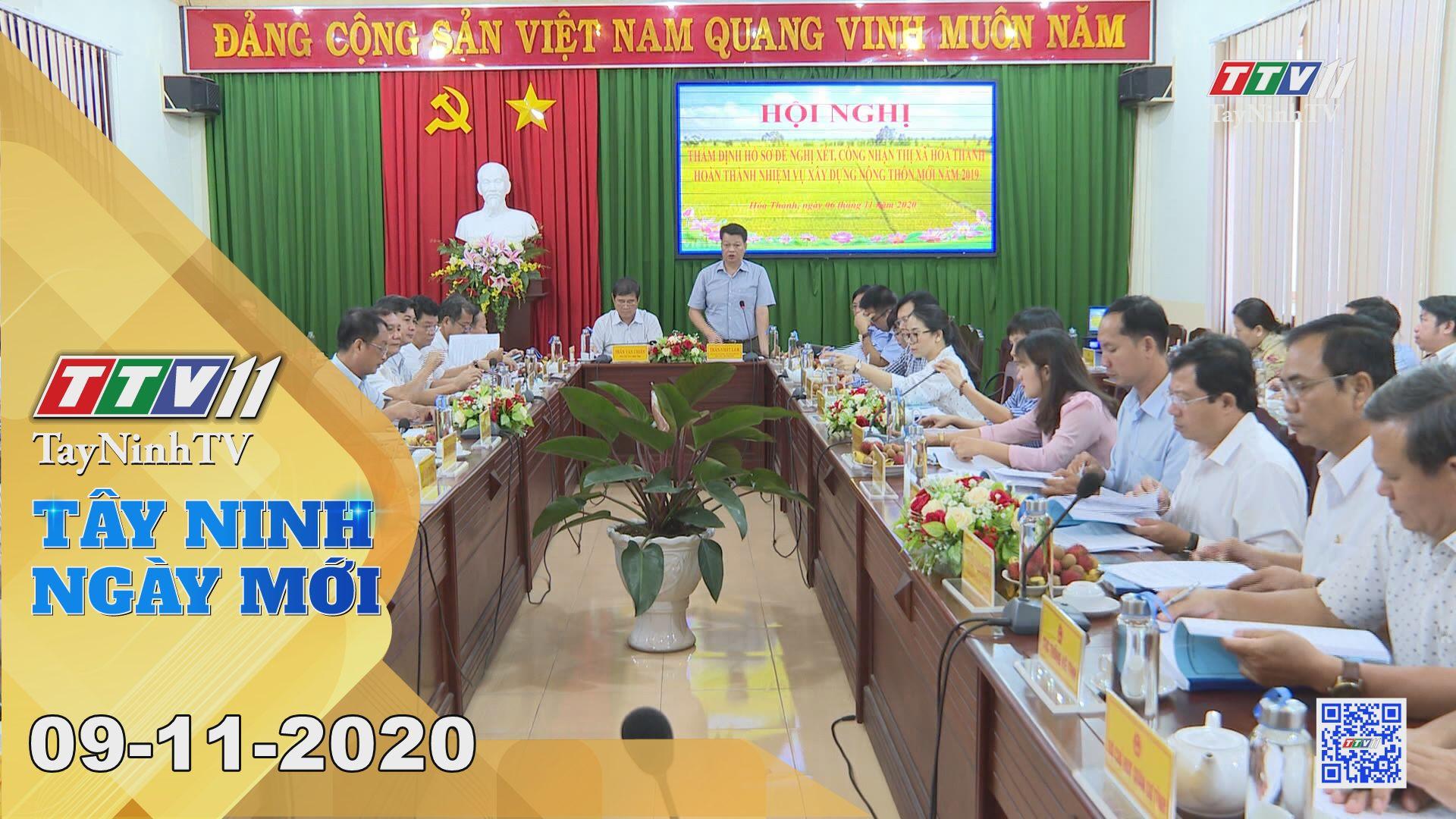 Tây Ninh Ngày Mới 09-11-2020 | Tin tức hôm nay | TayNinhTV