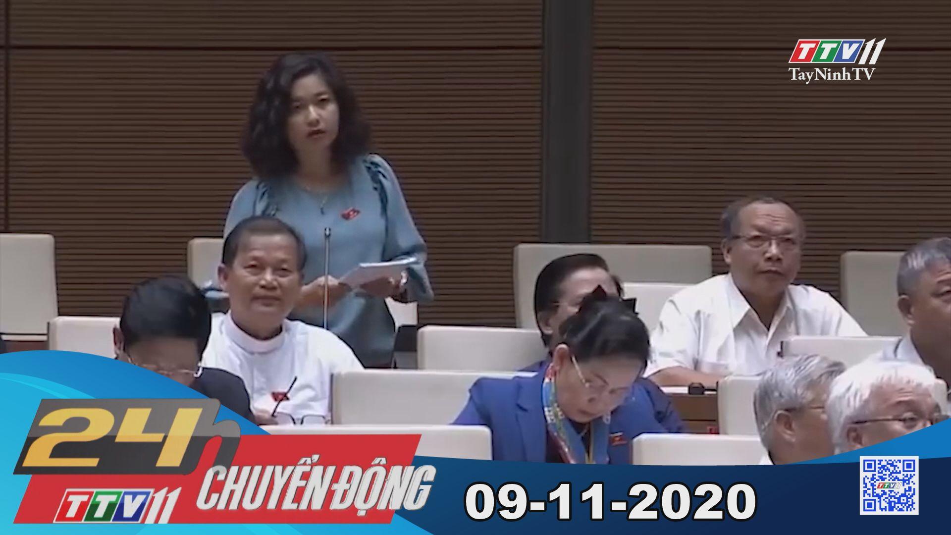 24h Chuyển động 09-11-2020 | Tin tức hôm nay | TayNinhTV