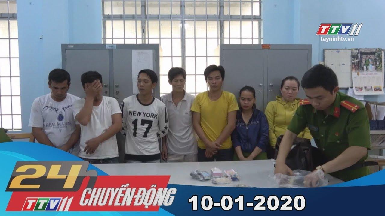 24h Chuyển động 10-01-2020 | Tin tức hôm nay | TayNinhTV