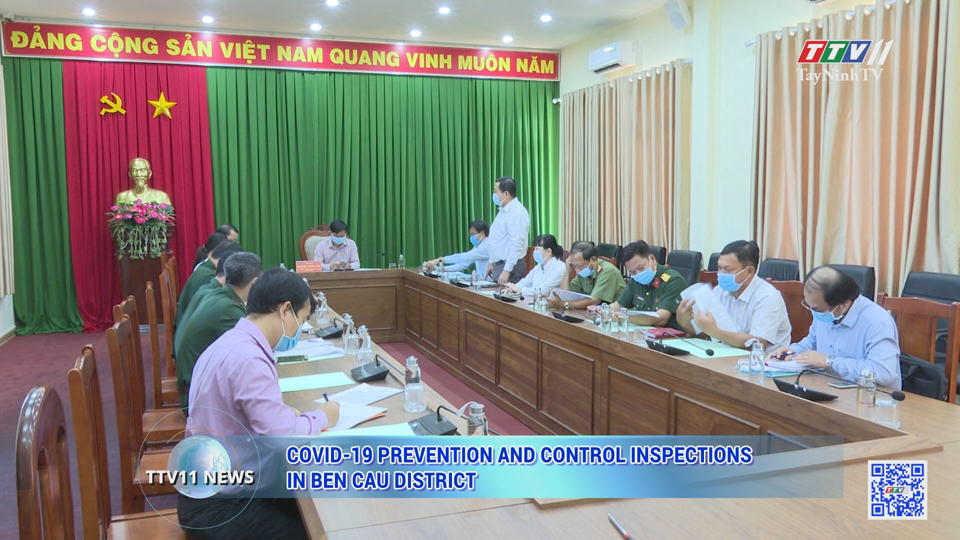 Covid-19 prevention and control inspections in Ben Cau district | TTVNEWS | TayNinhTV Today