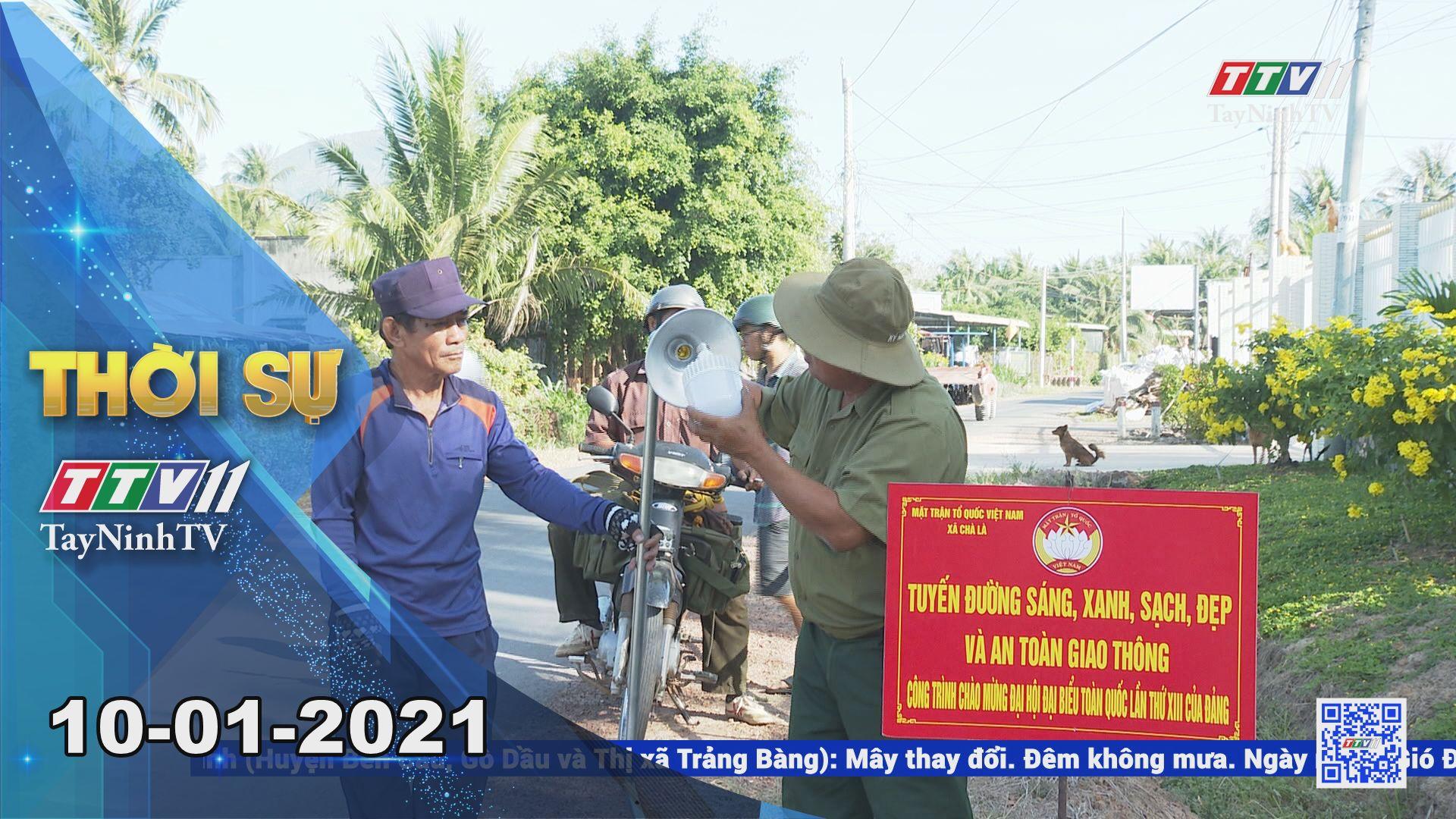 Thời sự Tây Ninh 10-01-2021 | Tin tức hôm nay | TayNinhTV