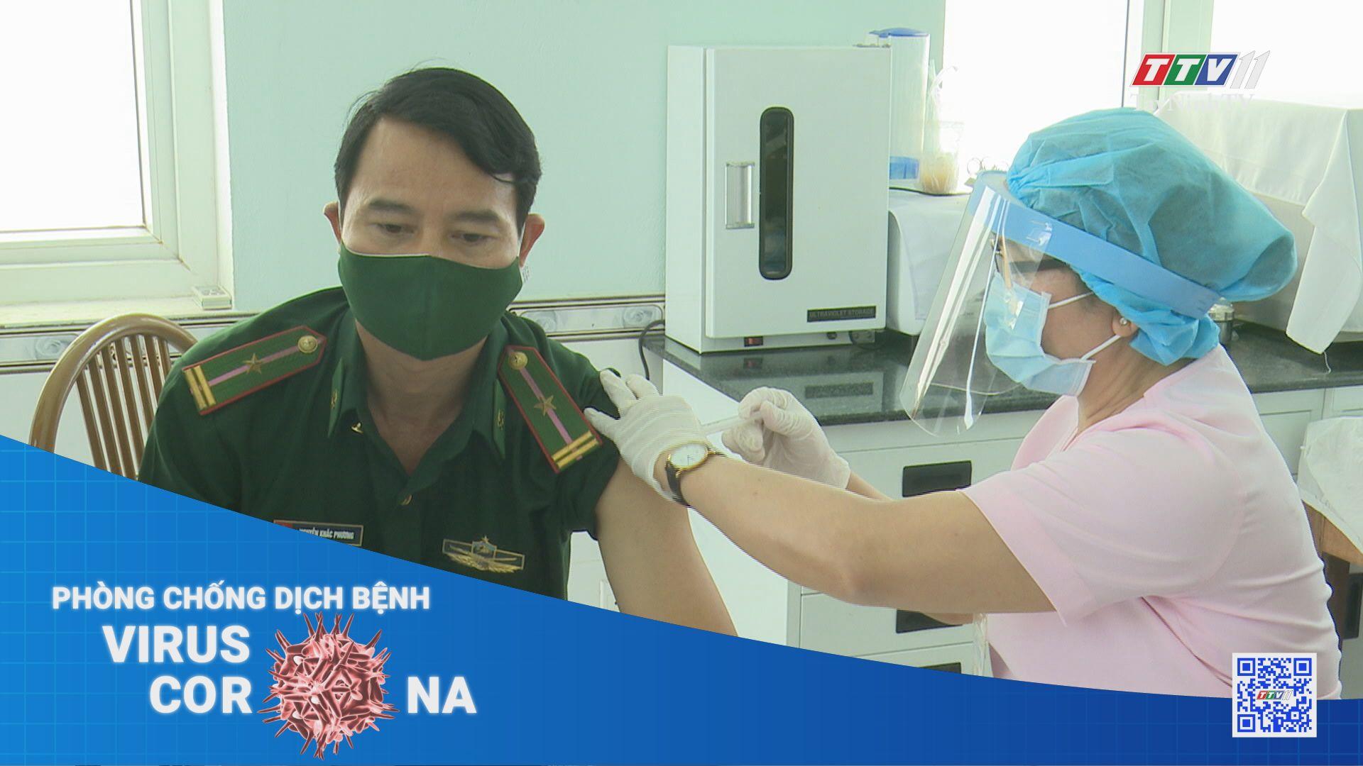 Bảo vệ an toàn cho lực lượng tuyến đầu chống dịch tại biên giới, cửa khẩu | THÔNG TIN DỊCH CÚM COVID-19 | TayNinhTV