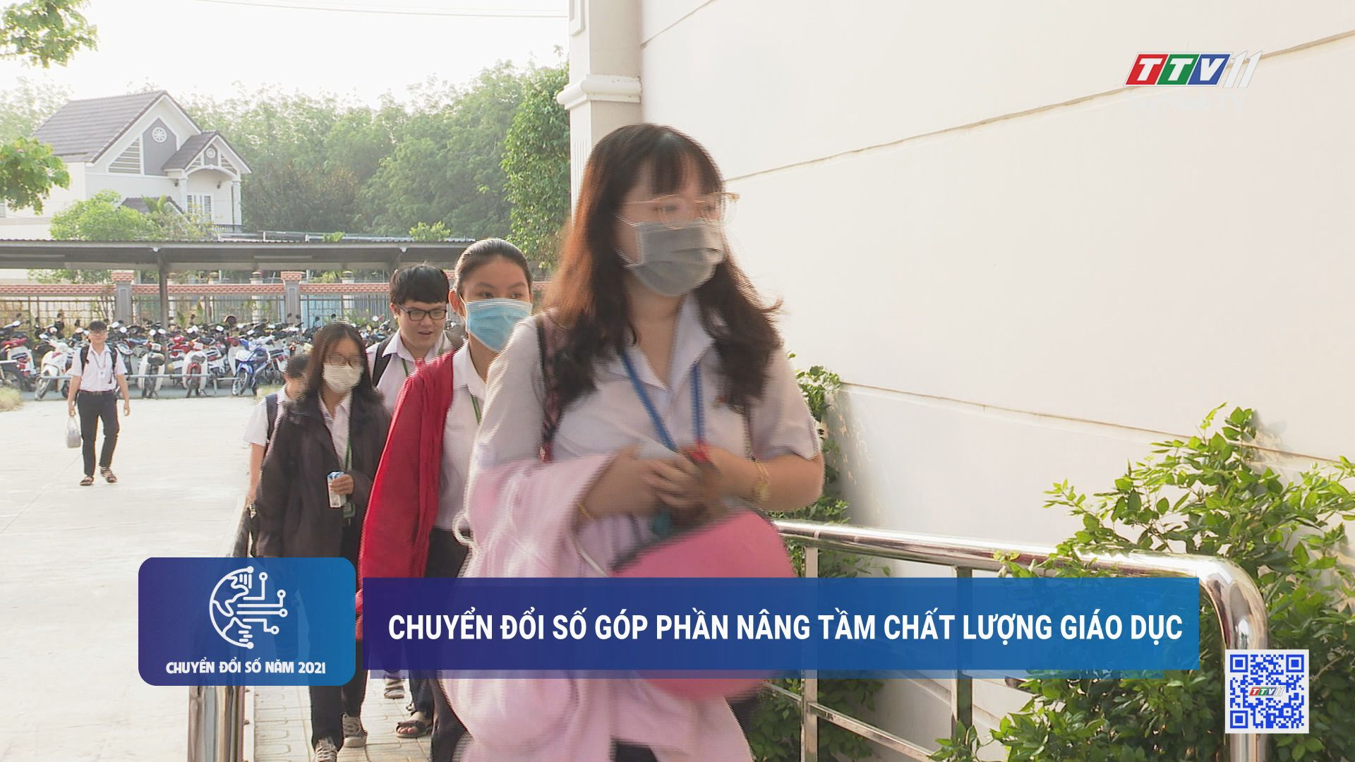 Chuyển đổi số góp phần nâng tầm chất lượng giáo dục | CHUYỂN ĐỔI SỐ | TayNinhTV