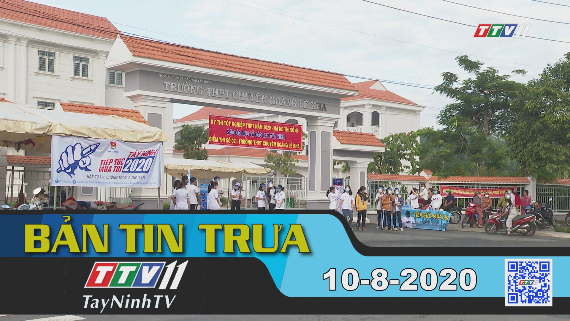 Bản tin trưa 10-8-2020 | Tin tức hôm nay | TayNinhTV