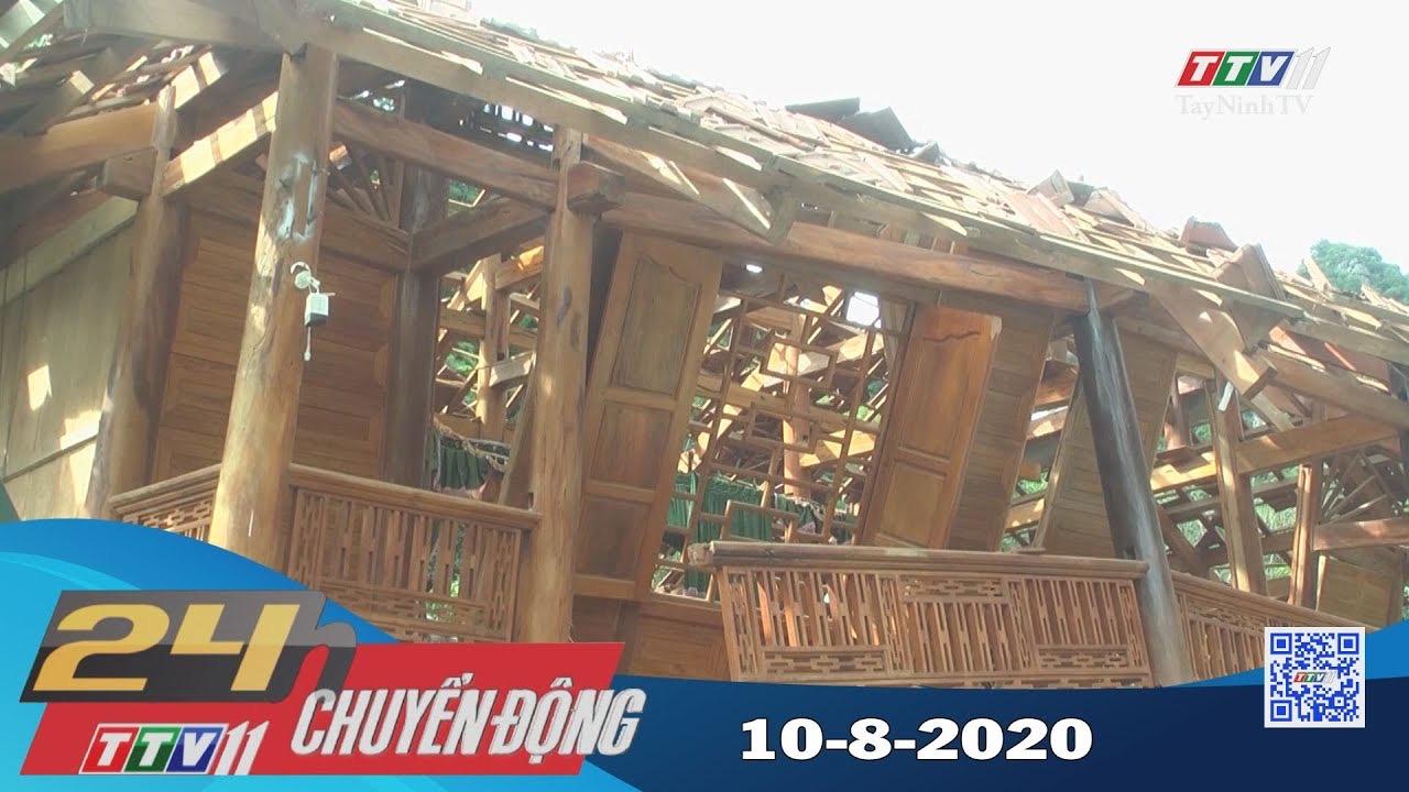 24h Chuyển động 10-8-2020 | Tin tức hôm nay | TayNinhTV