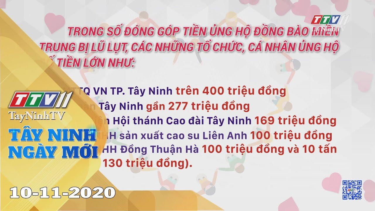 Tây Ninh Ngày Mới 10-11-2020 | Tin tức hôm nay | TayNinhTV