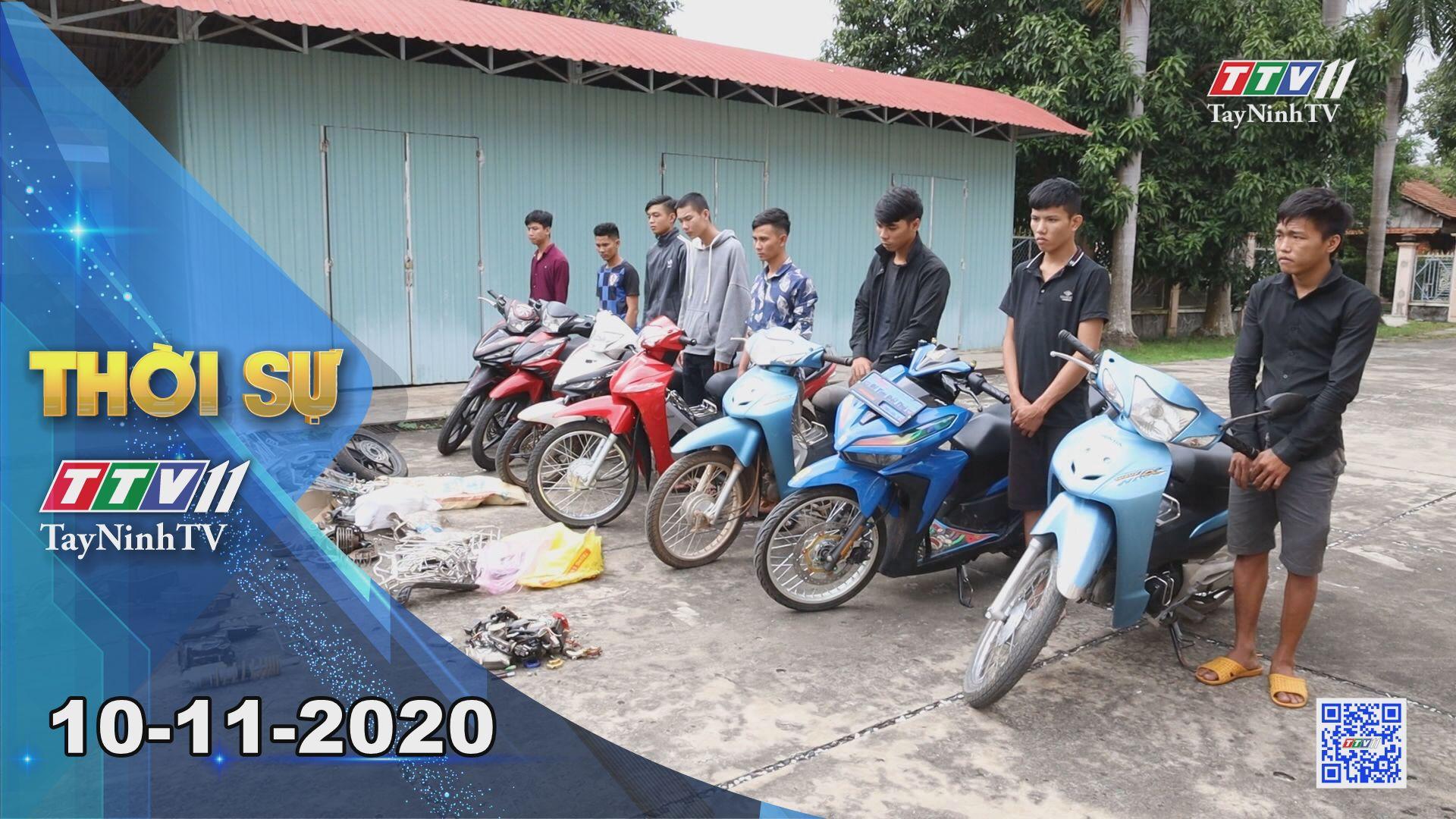 Thời sự Tây Ninh 10-11-2020 | Tin tức hôm nay | TayNinhTV
