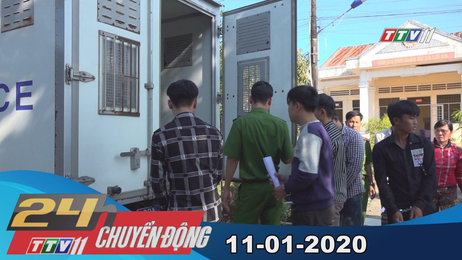 24h Chuyển động 11-01-2020 | Tin tức hôm nay | TayNinhTV