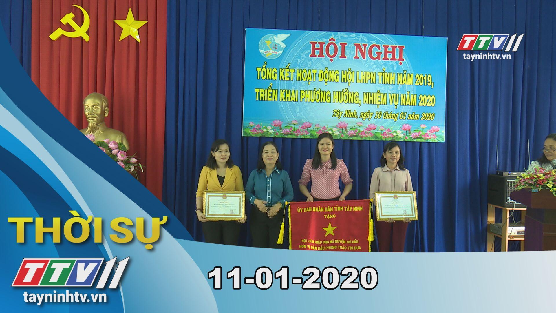 Thời sự Tây Ninh 11-01-2020 | Tin tức hôm nay | TayNinhTV