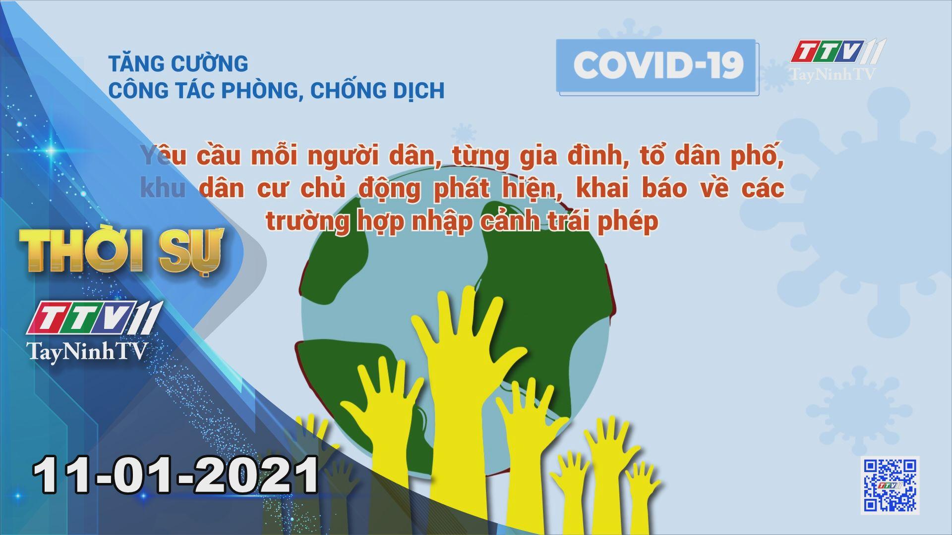 Thời sự Tây Ninh 11-01-2021 | Tin tức hôm nay | TayNinhTV