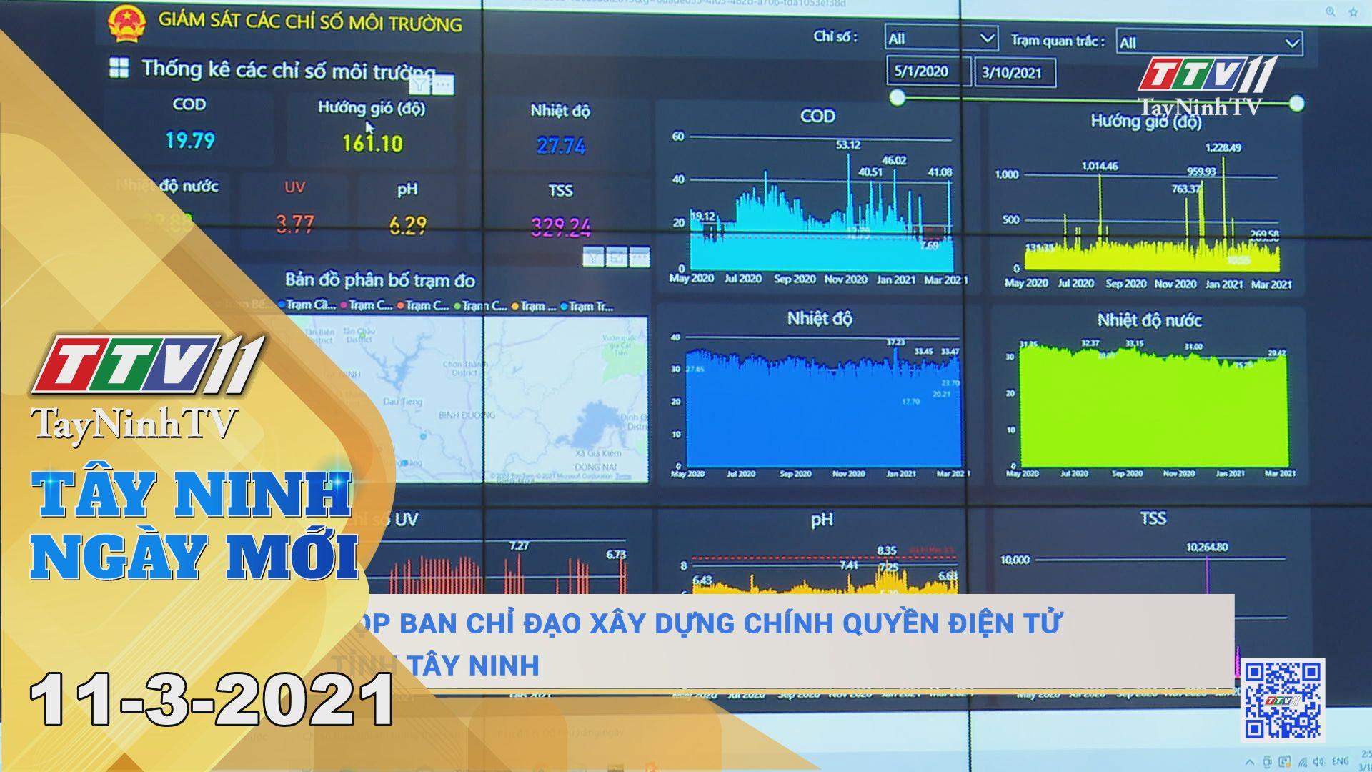 Tây Ninh Ngày Mới 11-3-2021 | Tin tức hôm nay | TayNinhTV