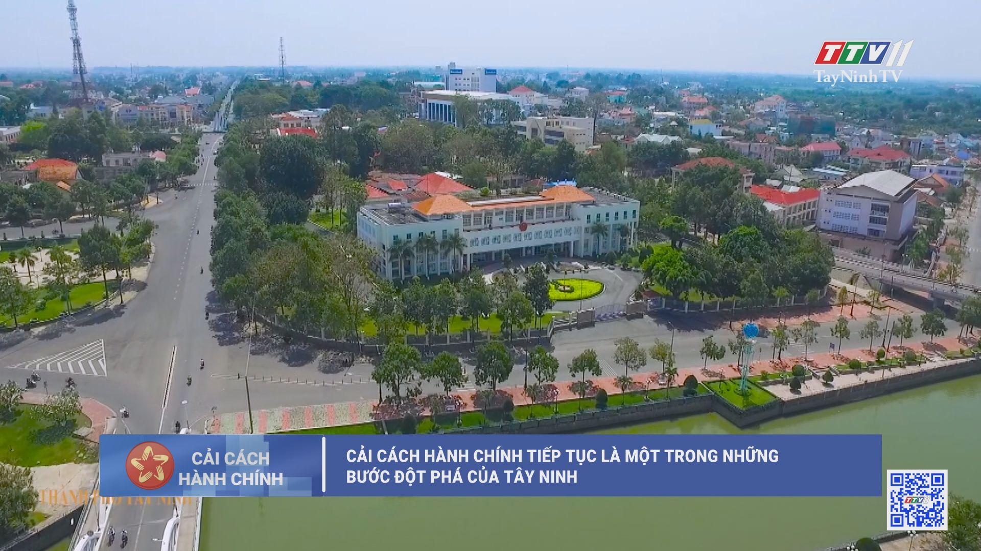 Cải cách hành chính tiếp tục là một trong những bước đột phá của Tây Ninh | CẢI CÁCH HÀNH CHÍNH | TayNinhTV