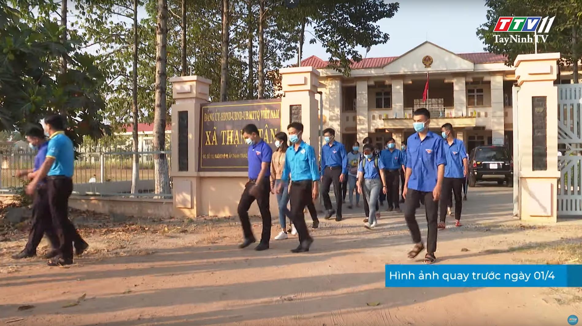Tuổi trẻ Tây Ninh tự hào tiến bước dưới cờ Đoàn quang vinh | THANH NIÊN | TayNinhTV