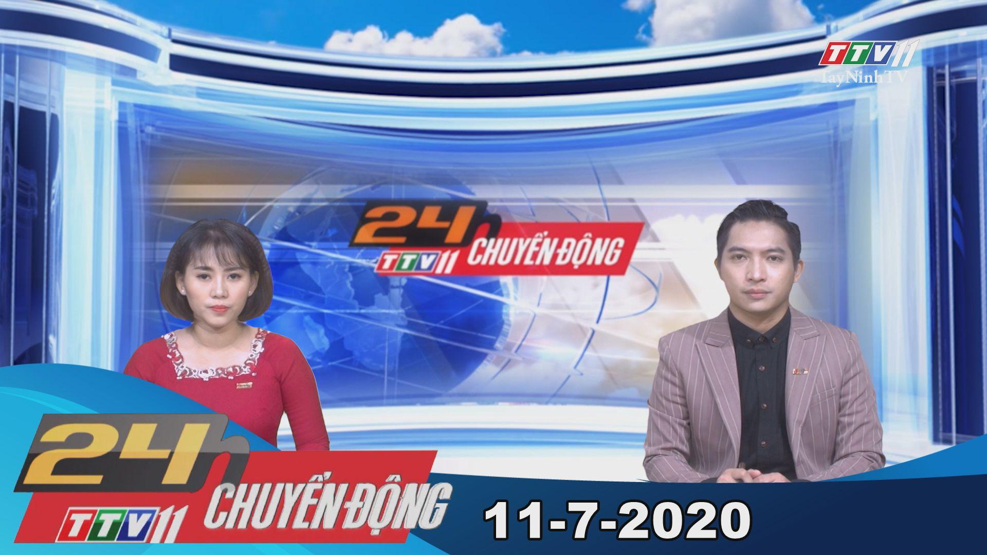 24h Chuyển động 11-7-2020 | Tin tức hôm nay | TayNinhTV