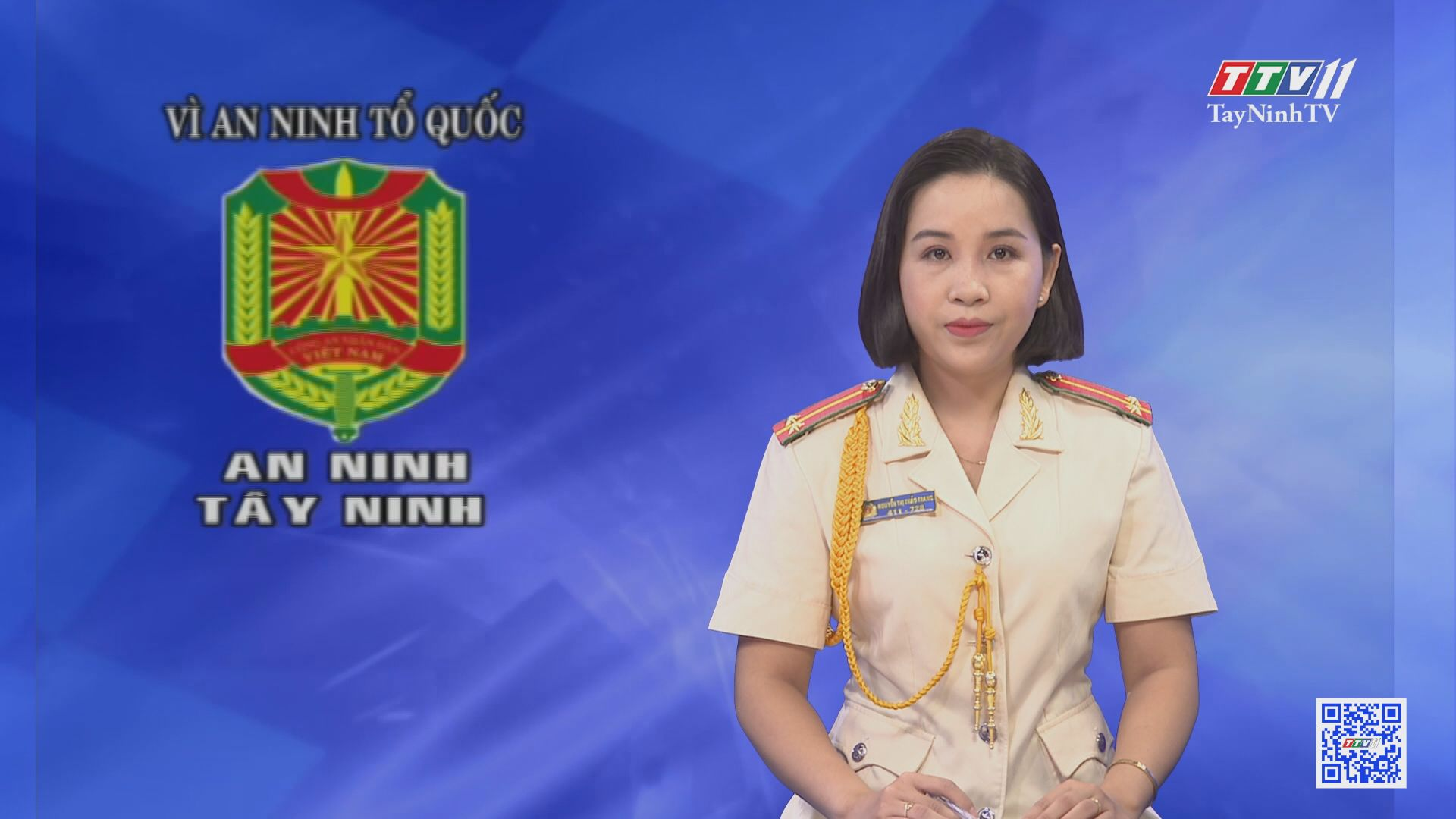 Trao quyết định hưởng chế độ hưu trí cho đại tá Nguyễn Tri Phương nguyên Giám đốc CA tỉnh Tây Ninh | VÌ AN NINH TỔ QUỐC | TayNinhTV