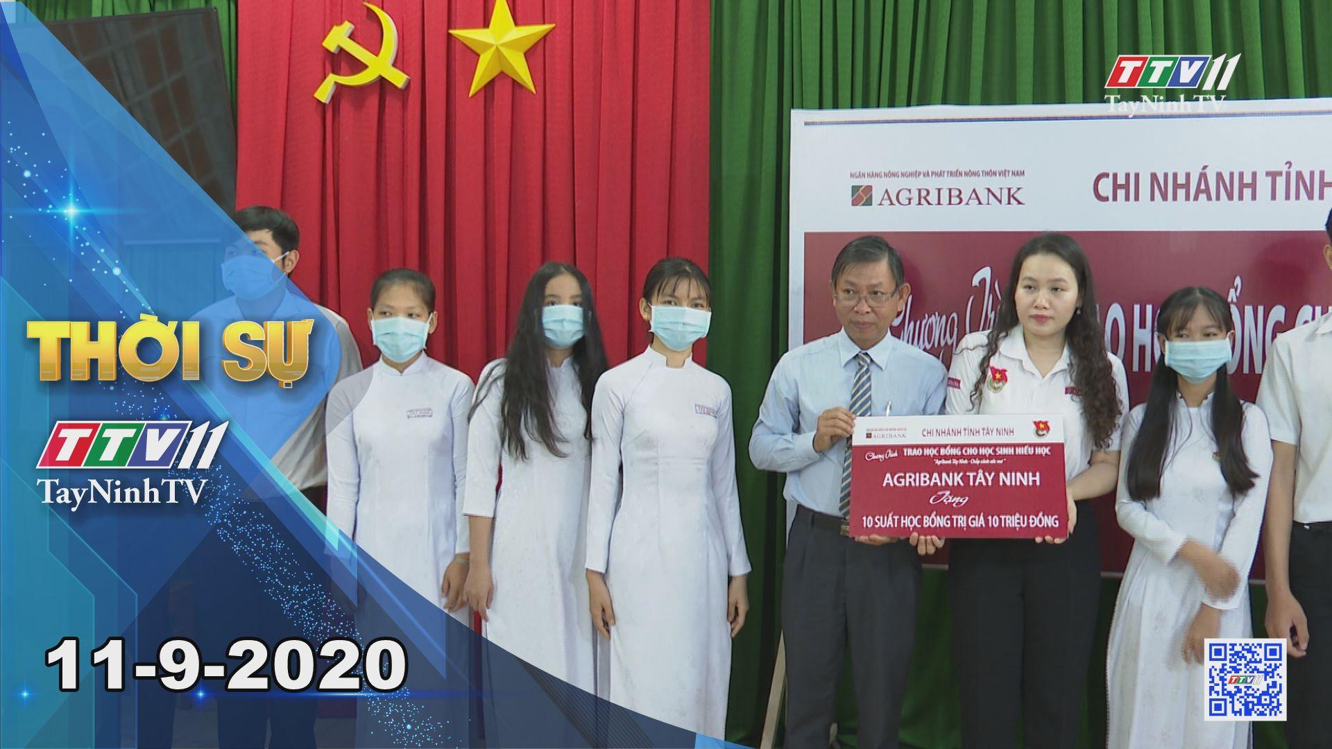 Thời sự Tây Ninh 11-9-2020 | Tin tức hôm nay | TayNinhTV