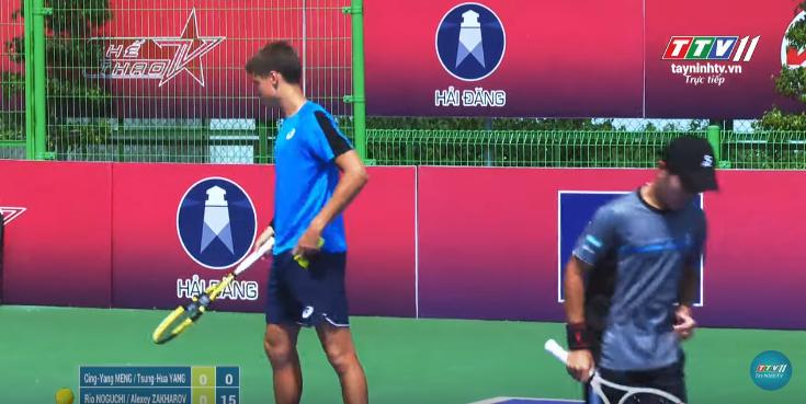 GIẢI QUẦN VỢT QUỐC TẾ ITF WORLD TENNIS TOUR M25 TAY NINH HAI DANG CUP 2019