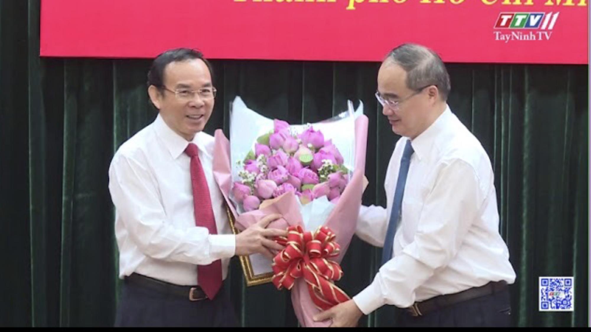 Giới thiệu đồng chí Nguyễn Văn Nên để bầu giữ chức Bí thư Thành ủy TPHCM | Đại hội Đảng các cấp | TayNinhTV