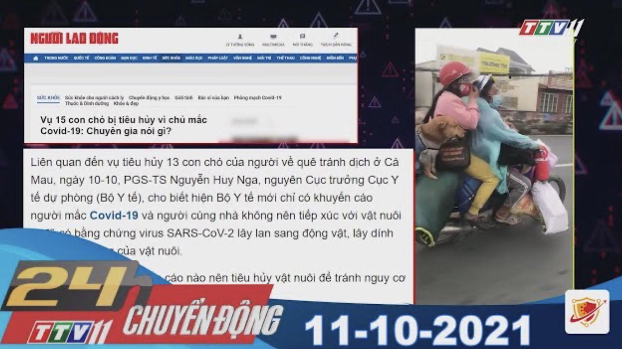 24H CHUYỂN ĐỘNG 11/10/2021 | Tin tức hôm nay | TayNinhTV