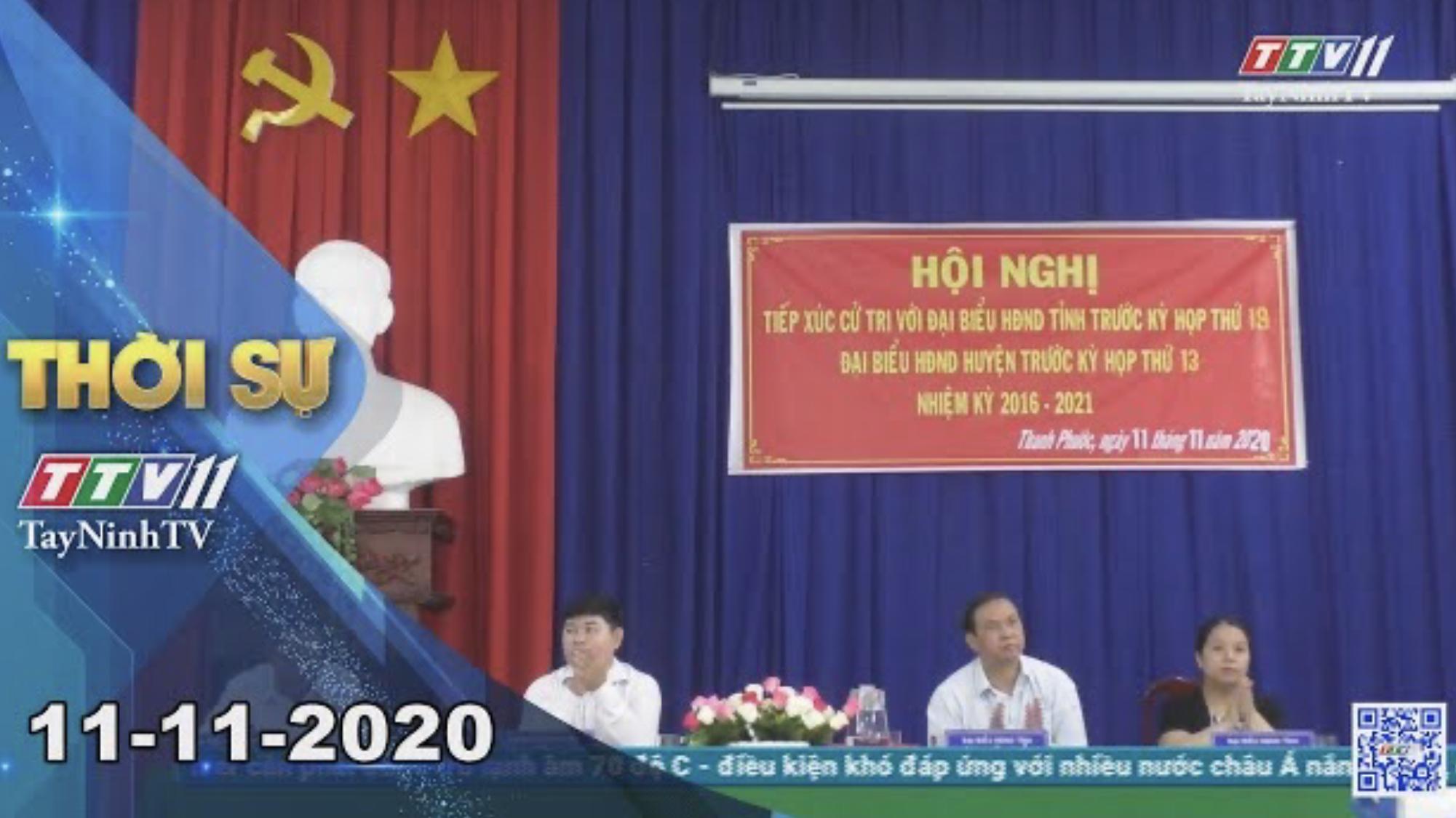 Thời sự Tây Ninh 11-11-2020 | Tin tức hôm nay | TayNinhTV