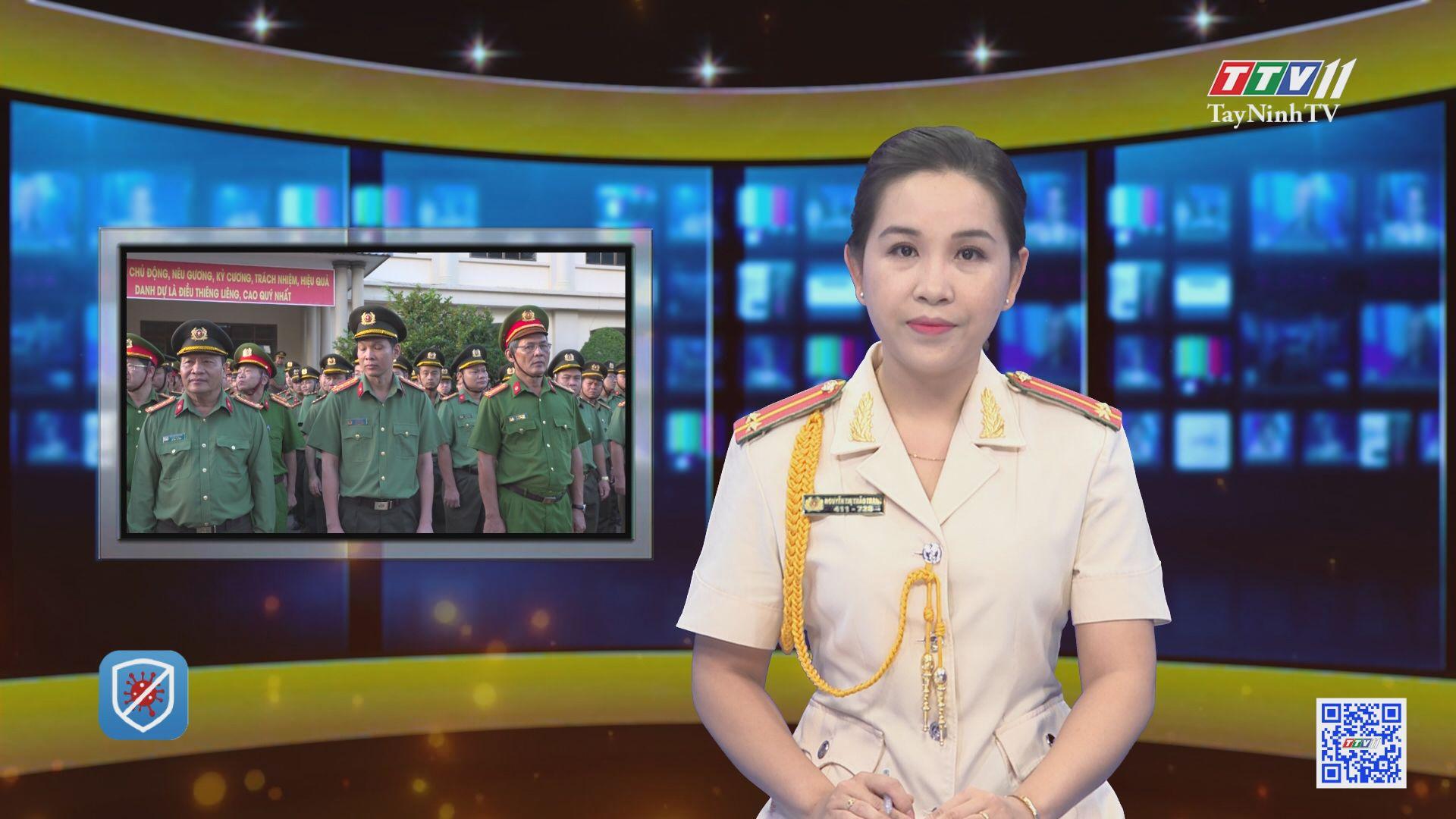 Công an Tây Ninh tổ chức lễ ra quân cấp thẻ CCCD có gắn chip điện tử | AN NINH TÂY NINH | TayNinhTV