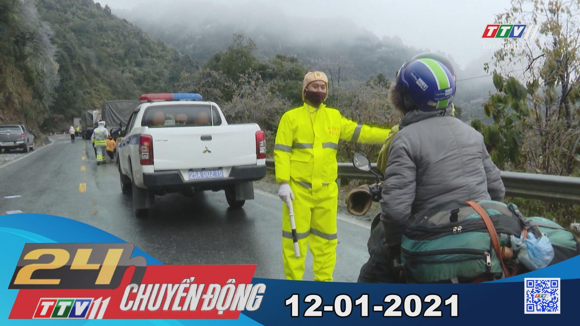 24h Chuyển động 12-01-2021 | Tin tức hôm nay | TayNinhTV