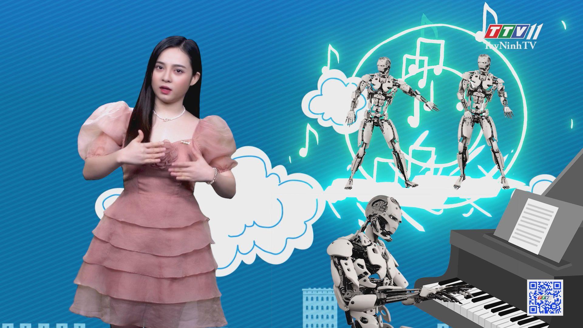Độc đáo ban nhạc robot chơi nhạc cụ truyền thống | CHUYỆN ĐÔNG TÂY KỲ THÚ | TayNinhTV