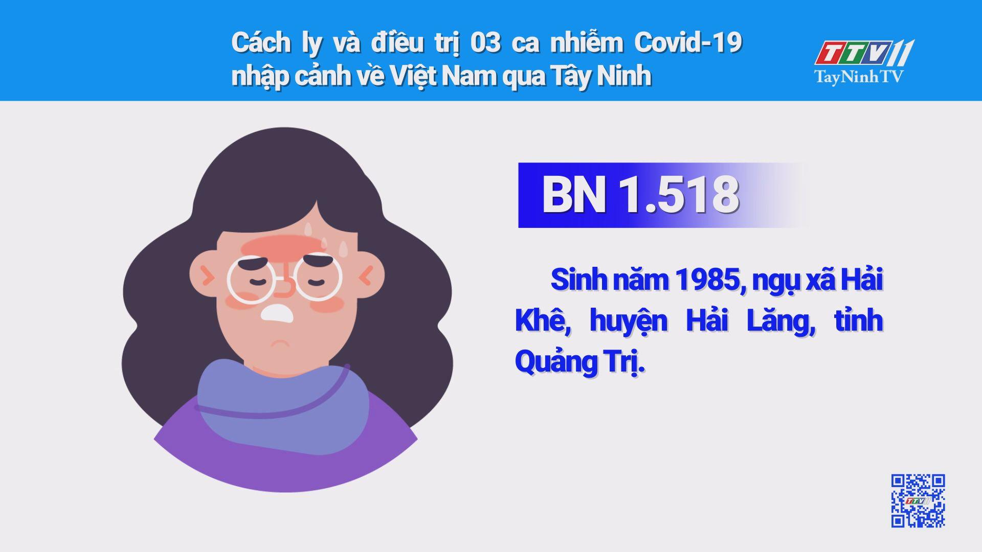 Cách ly và điều trị 03 ca nhiễm Covid-19 nhập cảnh về Việt Nam qua Tây Ninh | THÔNG TIN DỊCH CÚM COVID-19 | TayNinhTV