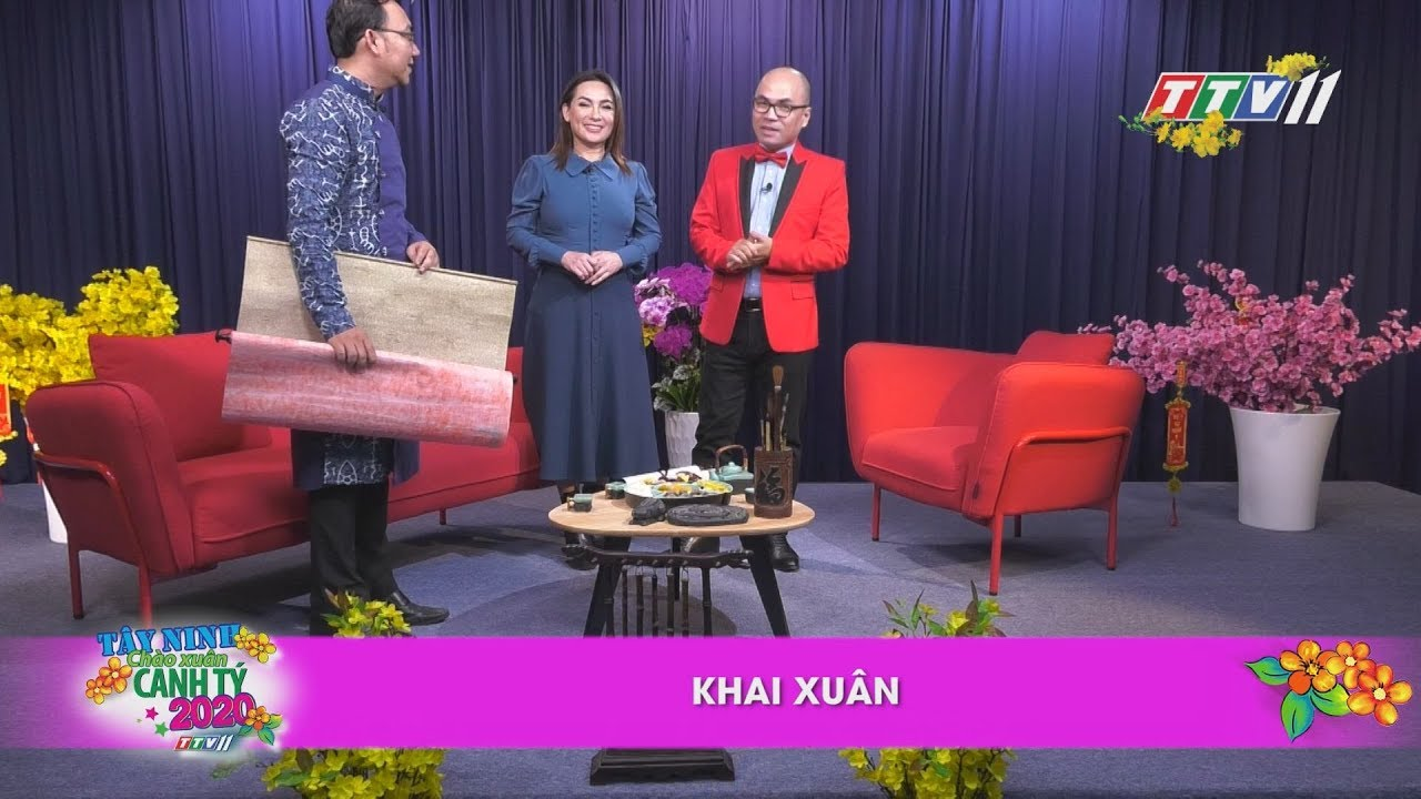 Khai Xuân | TALKSHOW TÂY NINH CHÀO XUÂN CANH TÝ | TayNinhTV