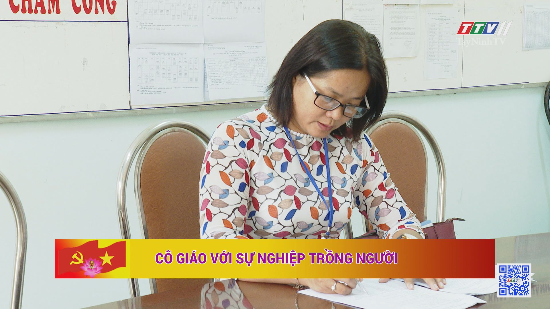 Cô giáo với sự nghiệp trồng người | HỌC TẬP VÀ LÀM THEO TƯ TƯỞNG, ĐẠO ĐỨC, PHONG CÁCH HỒ CHÍ MINH | TayNinhTV