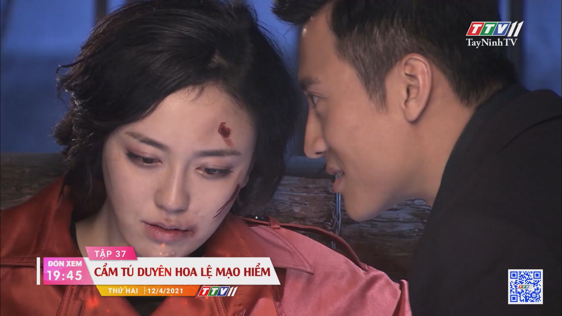 Cẩm Tú duyên hoa lệ mạo hiểm-Trailer tập 37 | PHIM CẨM TÚ DUYÊN HOA LỆ MẠO HIỂM | TayNinhTVE