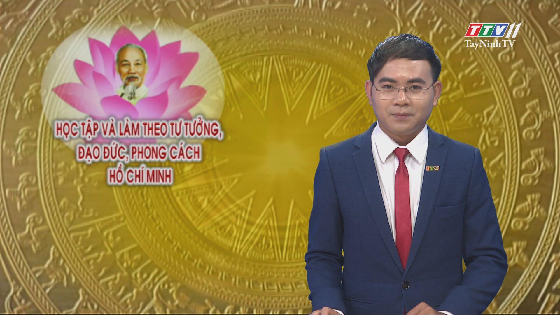 Cán bộ hội tận tâm | Học tập và làm theo gương Hồ Chí Minh | TayNinhTV