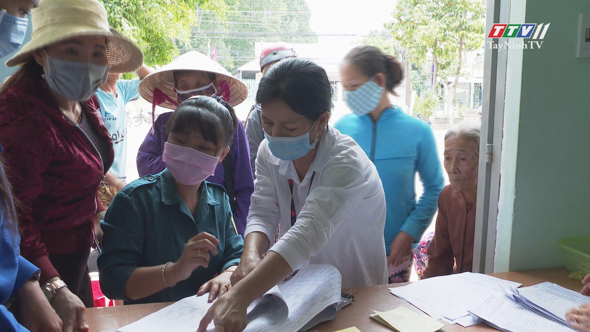 Hỗ trợ người dân bị ảnh hưởng bởi đại dịch covid-19: vẫn còn một số khó khăn | TIẾNG NÓI CỬ TRI | TayNinhTV