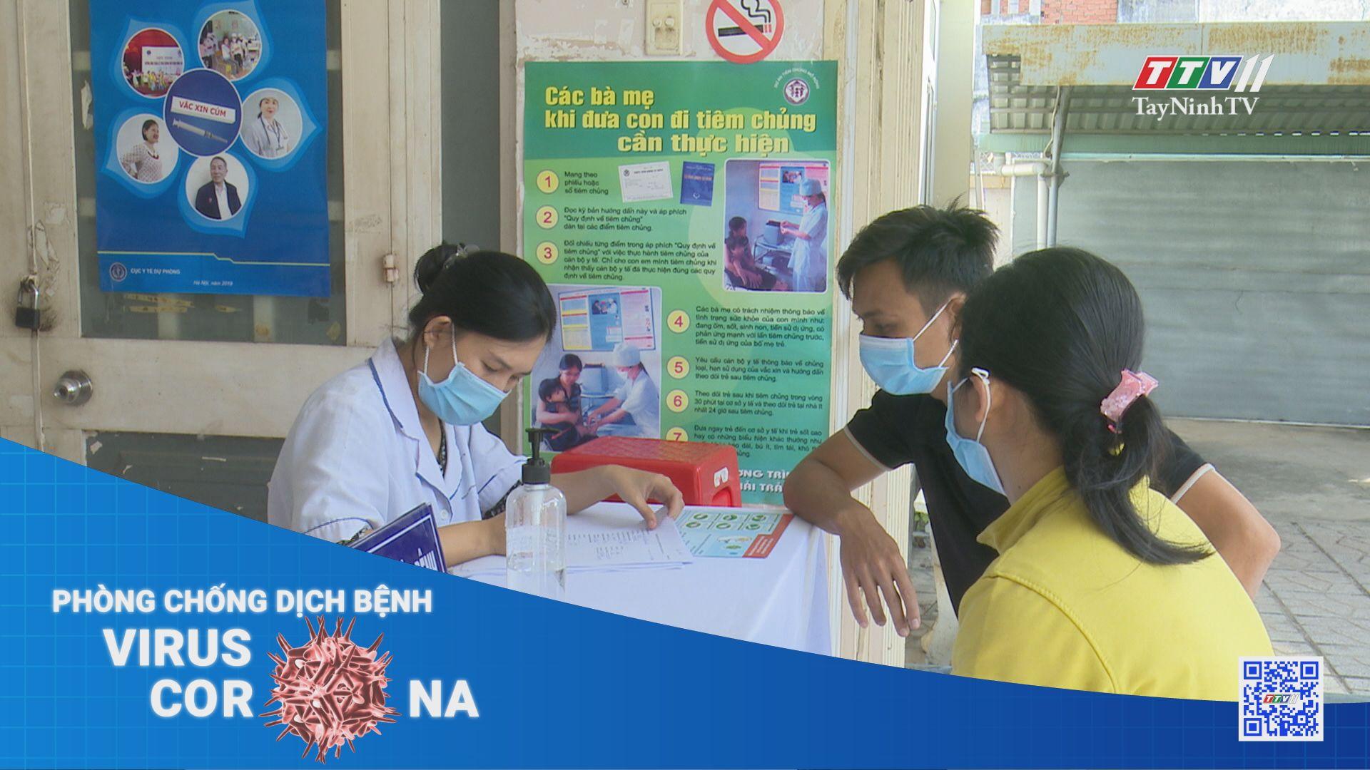 Ứng phó với 4 nguy cơ phát sinh dịch trong cộng đồng | THÔNG TIN DỊCH CÚM COVID-19 | TayNinhTV