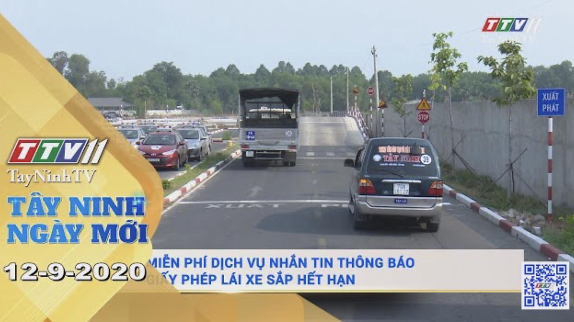 Tây Ninh Ngày Mới 12-9-2020 | Tin tức hôm nay | TayNinhTV