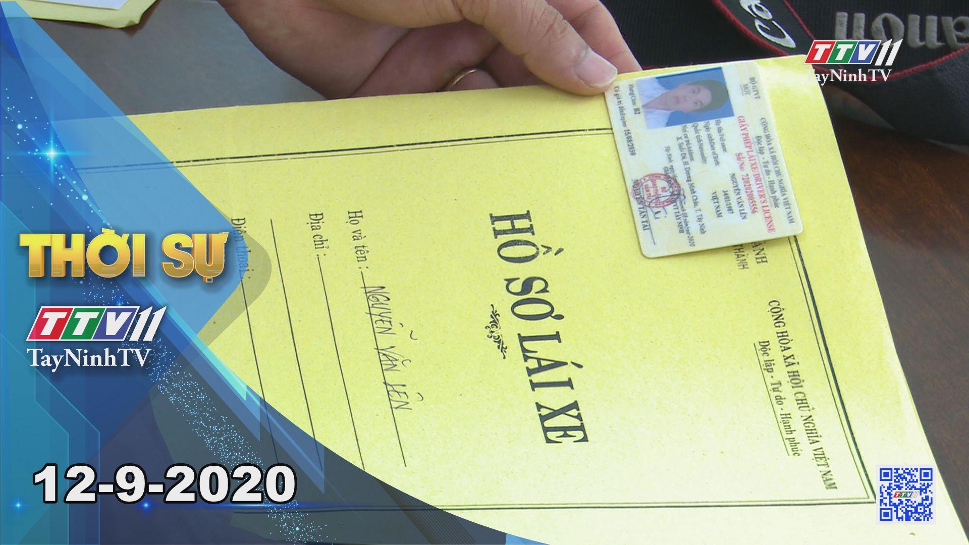 Thời sự Tây Ninh 12-9-2020 | Tin tức hôm nay | TayNinhTV