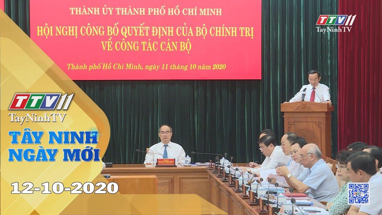 Tây Ninh Ngày Mới 12-10-2020 | Tin tức hôm nay | TayNinhTV