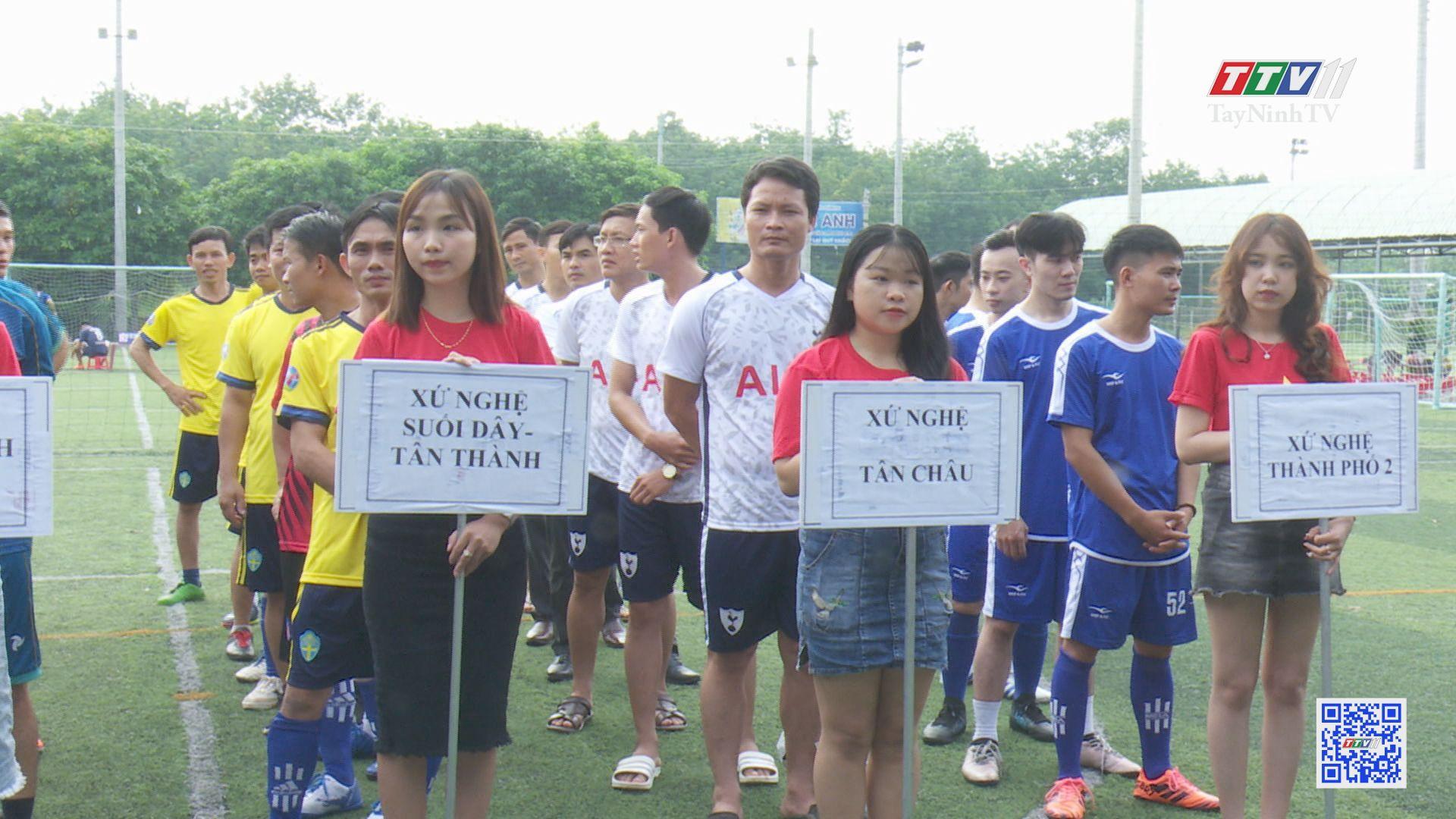 Giải bóng đá xứ Nghệ tại Tây Ninh lần 6 | BẢN TIN THỂ THAO | TayNinhTV