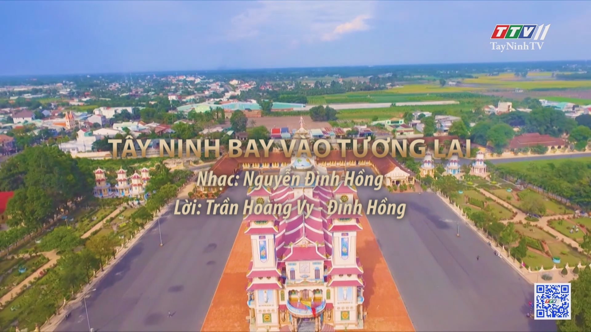 Tây Ninh bay vào tương lai | Tuyển tập karaoke Tây Ninh tình yêu trong tôi | TayNinhTV