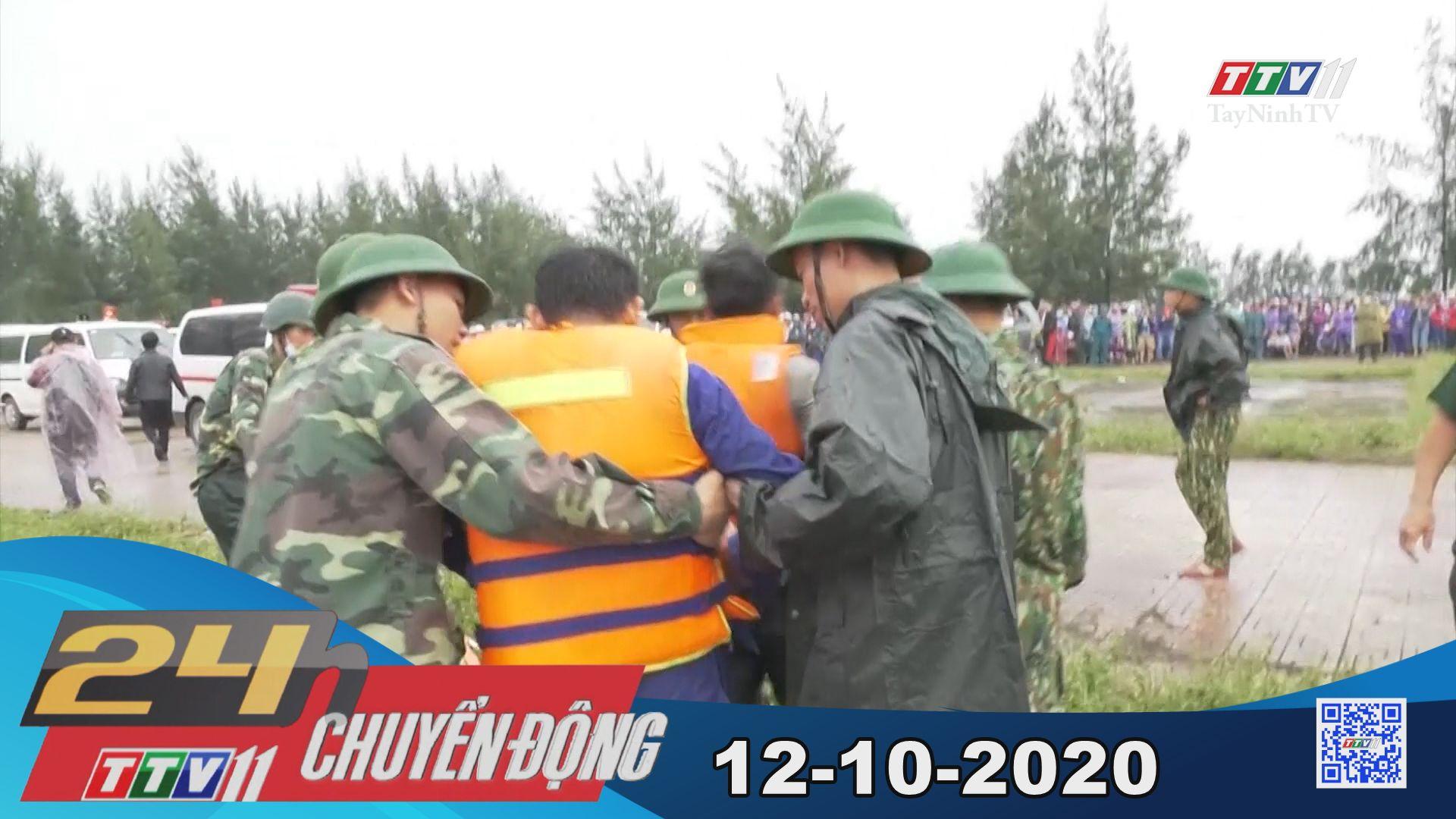 24h Chuyển động 12-10-2020 | Tin tức hôm nay | TayNinhTV