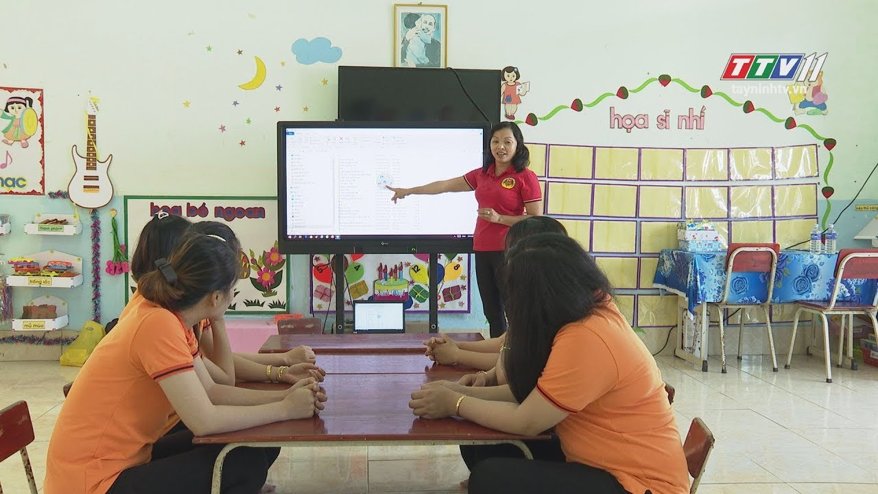 Trọn chữ với sự nghiệp TRỒNG NGƯỜI | GIÁO DỤC VÀ ĐÀO TẠO | TayNinhTV