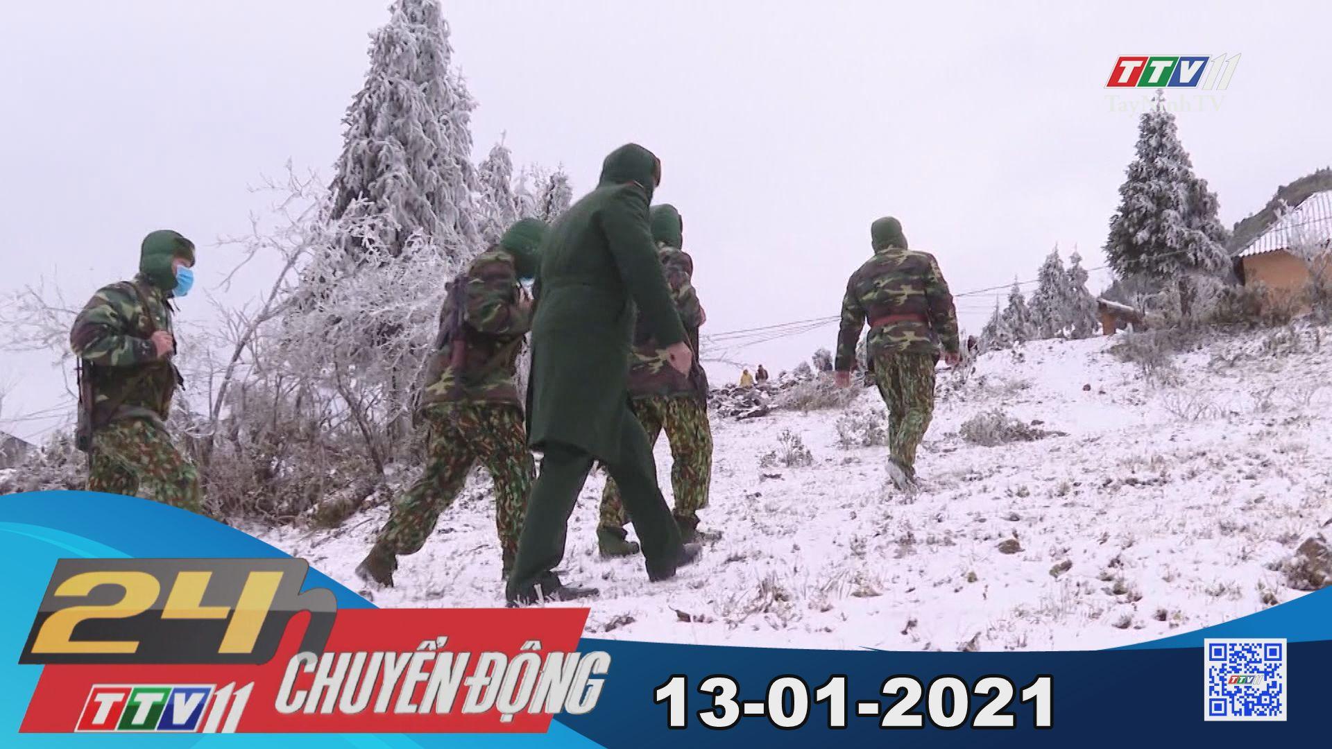 24h Chuyển động 13-01-2021 | Tin tức hôm nay | TayNinhTV